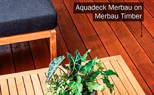 Aquadeck Merbau Deck and Timber Furniture