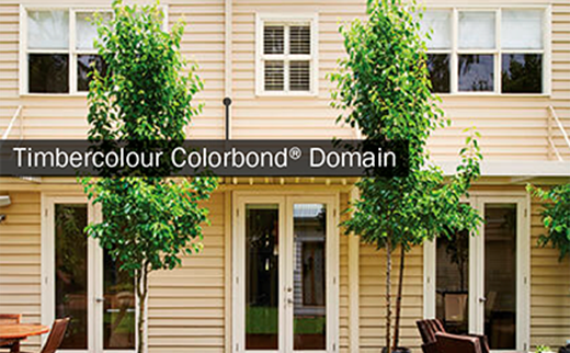Timbercolour Colorbond Domain