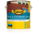Cabot's Water Based Deck & Exterior Stain