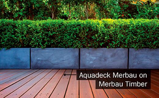 Aquadeck Merbau on Merbau Timber Deck