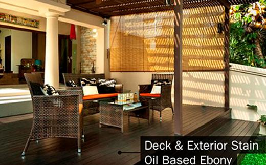 Deck & Exterior Stain Oil Based Ebony