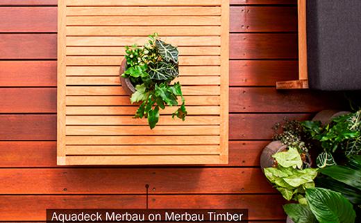 Aquadeck Merbau & Timber Table